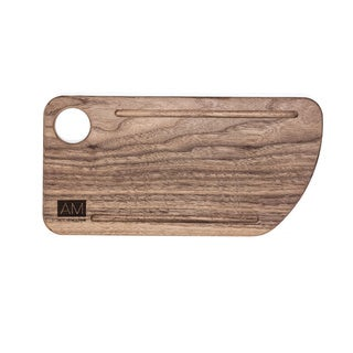 Walnut Wood Cutting Board Style Rustic Serving Plates 6x12 by L'Atelier Moderne