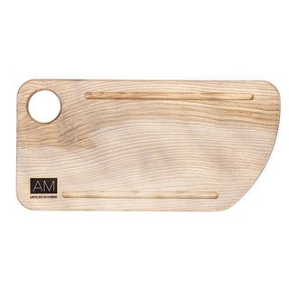 Birch Wood Cutting Board Style Rustic Serving Plates 6x12 by L'Atelier Moderne