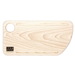 Ash Wood Cutting Board Style Rustic Serving Plates 6x12 by L'Atelier Moderne