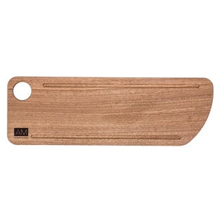 Mahogany Wood Cutting Board Style Rustic Serving Plates 6x18 by L'Atelier Moderne - BEST SELLER