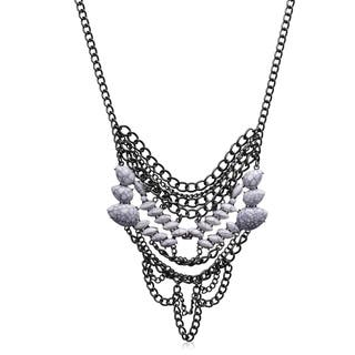 Adoriana White Chain Statement Necklace|https://ak1.ostkcdn.com/images/products/10884115/P17919791.jpg?impolicy=medium