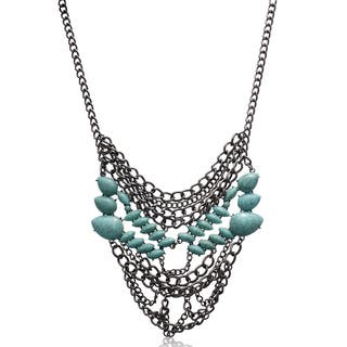 Adoriana Turquoise Chain Statement Necklace|https://ak1.ostkcdn.com/images/products/10884116/P17919792.jpg?impolicy=medium