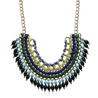 Adoriana Fresh Chain Statement Necklace