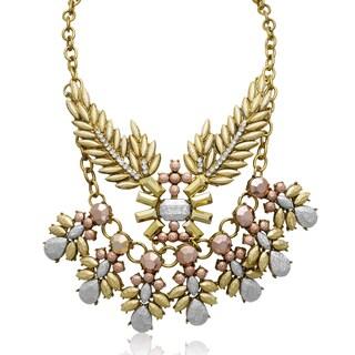 Passiana Metallic Branch Statement Necklace