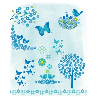 """Artemio Clear Stamps 5.9""""X8.7""""-Flowers"""