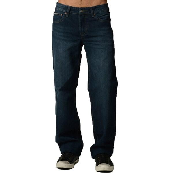 Shop Dinamit Degree Men S Relaxed Fit Blue Denim Jeans