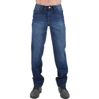 Dinamit Degree Mens Blue Denim Jeans