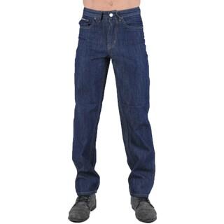 Dinamit Degree Men's Straight Leg Blue Denim Jeans