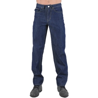 Dinamit Degree Men's Straight Leg Blue Denim Jeans