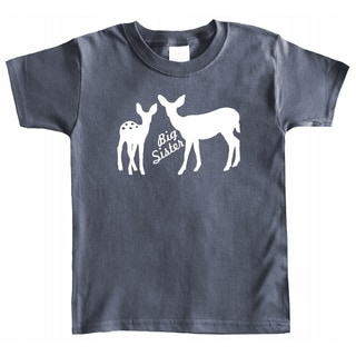 Rocket Bug Big Sister Deer T-shirt