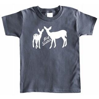 Rocket Bug Big Sister Deer T-shirt (More options available)