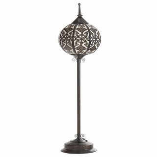 Oriental Steel Floor Lamp (Indonesia)