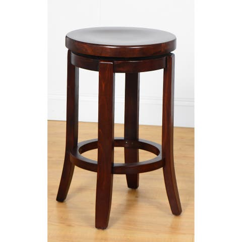 Champagne Swivel Counter Stool