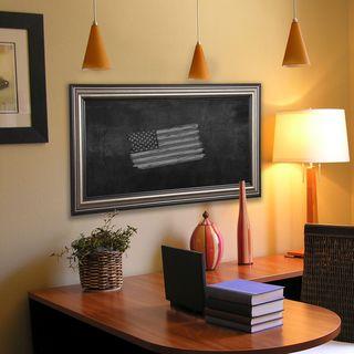 American Made Rayne Antique Silver Blackboard/Chalkboard