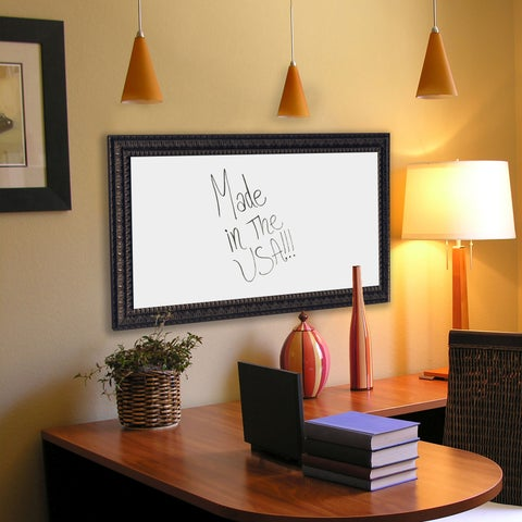 American Made Rayne Dark Embellished Dry Erase Board