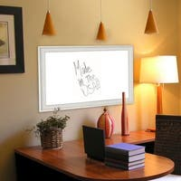 American Made Vintage White Dry Erase Board