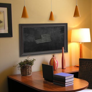 American Made Rayne Brazilian Walnut Blackboard/Chalkboard