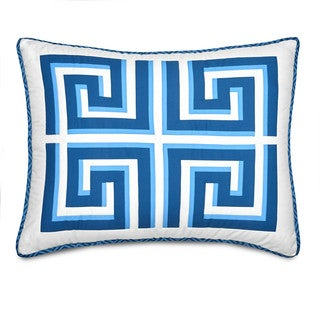Jill Rosenwald Greek Key Sham - Thumbnail 0