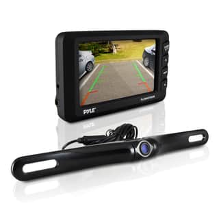 Pyle PLCM4375WIR Rear View Back-up Camera and Parking/ Reverse Assist System with 4.3-inch Display|https://ak1.ostkcdn.com/images/products/10884793/P17920336.jpg?impolicy=medium