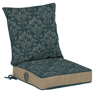 Bombay Outdoors Royal Zanzibar Reversible Dining Cushion Set with Adjustable Comfort Technology