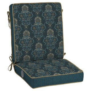 Bombay Outdoors Anatolia Blue Adjustable Comfort Chair Cushion