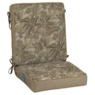 Bombay Outdoors Palmetto Mocha Adjustable Comfort Chair Cushion