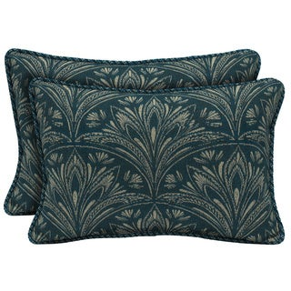 Bombay Outdoors Royal Zanzibar Reversible Outdoor Lumbar Pillows (Set of 2)