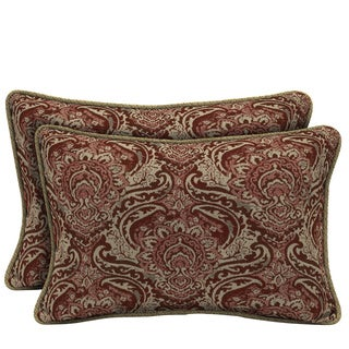 Bombay Outdoors Venice/ Kenya Reversible Outdoor Lumbar Pillows (Set of 2)
