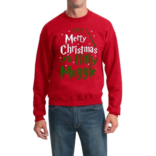 mens merry christmas ya filthy muggle sweater