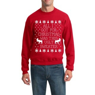 Men's All I Got for Christmas Was This Ugly Sweater