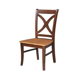 Salerno Wooden Dining Chairs (Set of 2)