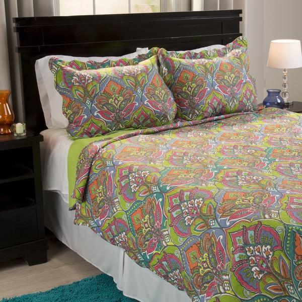 Windsor Home Leanna 3-piece Quilt Set