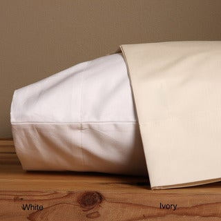 Grand Luxe Sateen 800 Thread Count Egyptian Cotton Solid Pillowcases (Set of 2)