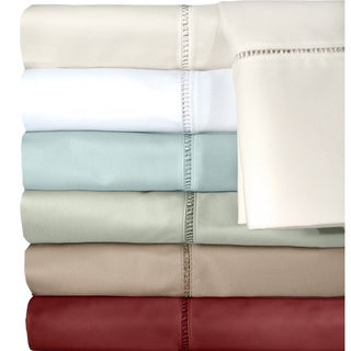 Grand Luxe Cotton Linford Egyptian Cotton 500 Thread Count Pillowcases (Set of 2)