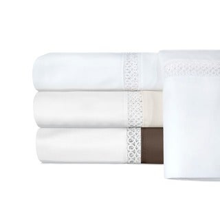 Grand Luxe Egyptian Cotton Duetta 800 Thread Count Pillowcases (Set of 2)