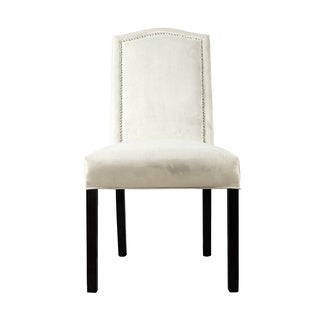 Kacey Star Velvet Nailback Tufted Upholstered Dining Chair Set of 2 (Option: Smoke)