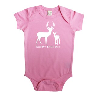 Rocket Bug Baby Daddy's Little Doe Bodysuit (4 options available)