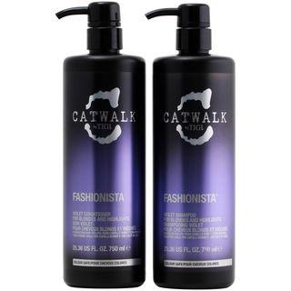TIGI Catwalk Fashionista Violet Shampoo and Conditioner Set