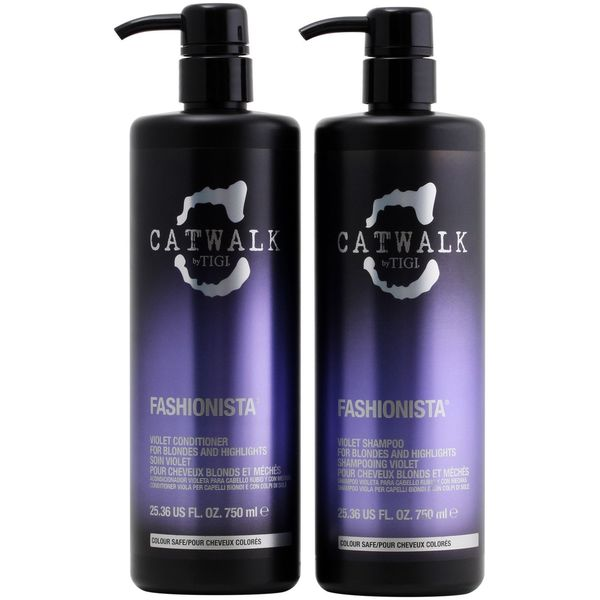TIGI Catwalk Fashionista Violet Shampoo and Conditioner Set