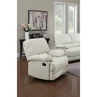 LYKE Home Daryl Cream Recliner