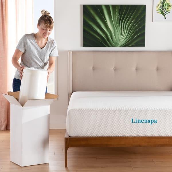 Linenspa Essentials 2 Inch SupportRight™ Foam Mattress Topper