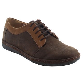 ALESSIO M137L Men's Classic Desert Lace-up Oxfords