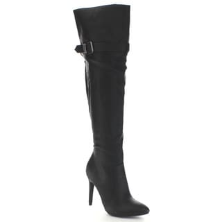 Wild Diva Bessy-20 Women's High Heel Knee High Boots