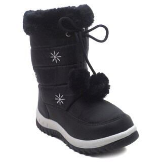 Blue Children's IK Snowfur Boots