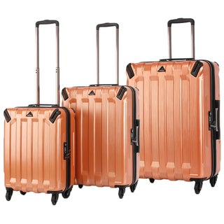 Triforce Ranger Collection 3-piece Hardside Spinner Luggage Set