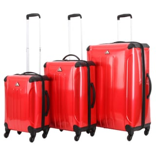 Triforce Apex 102 Collection 3-piece Hardside Spinner Luggage Set