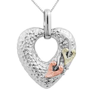 Vinya 12k Gold over Silver Heart Pendant