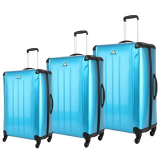 Triforce Apex 101 Collection 3-piece Hardside Spinner Luggage Set