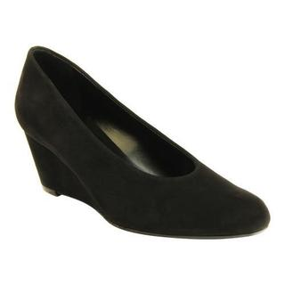 Women's VANELi Dilys Wedge Black Suede|https://ak1.ostkcdn.com/images/products/10885736/P17921202.jpg?impolicy=medium