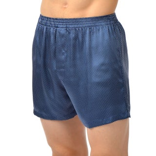 Cypress Men's Silk Charmeuse Boxer Shorts (2 options available)